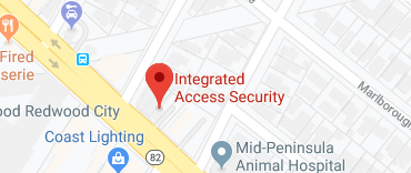 Map of Integrated Access Security in Redwood City, CA